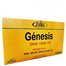Genesis DHA 1000 TG 60 capsulas Zeus
