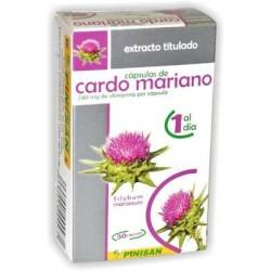 EXTRACTO TITULADO CARDO MARIANO 30 Cápsulas - Pinisan