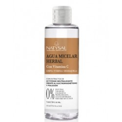 Agua Micelar Herbal con Vitamina C Natysal 200 ml