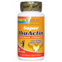 Super IbuActin · Solaray · 60 cápsulas