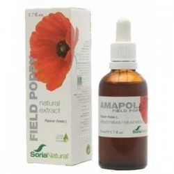 Extracto de Amapola - 50 ml - Soria Natura