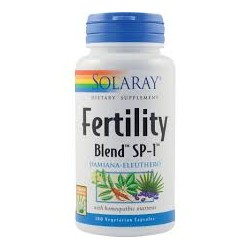 Fertility Blend 100 cápsulas Solaray