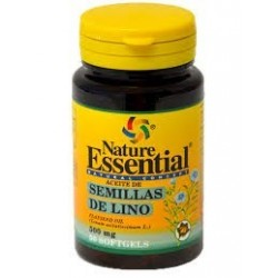 Semillas de Lino - 500 mg - 50 cap - Nature Essential