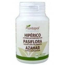 Hipérico -Pasiflora - Azahar - 100 comp - Plantapol
