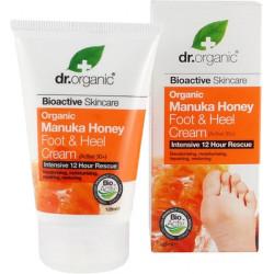 Dr.Organic Crema para piel y talones de miel de Manuka 125 ml