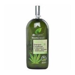 Dr.Organic champu y acondicionador de aceite de canamo 265 ml