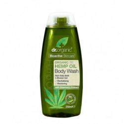 Dr.Organic Gel de baño o ducha de aceite de cañamo 250 ml