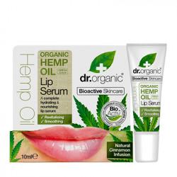 Dr.Organic Serum labial de aceite de canamo 10 ml