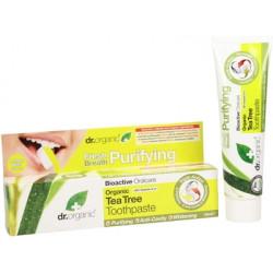 Dr. Organic Pasta de Dental de Árbol té orgánico 100 ml