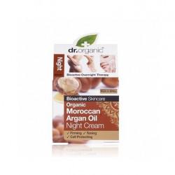 Dr. Organic Crema Noche de Aceite Argán Marroquí Organico 50 ml