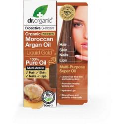 Dr Organic Aceite De Argan Facial Antiedad 30 Ml.