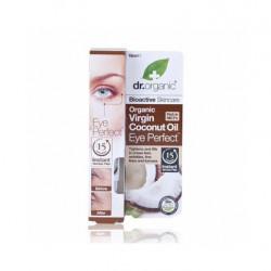 Dr Organic Contorno De Ojos Con Aceite De Coco Virgen 15 Ml.
