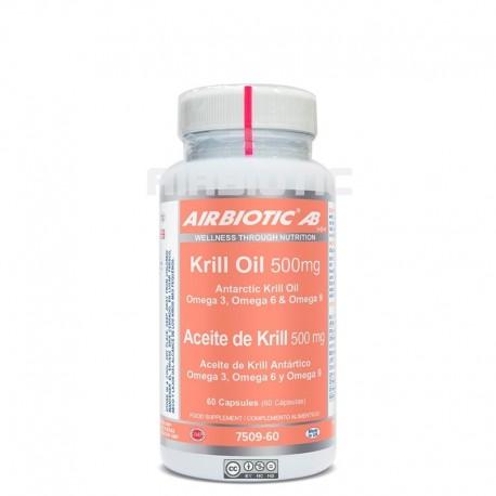 Aceite de Krill Antártico - 500mg - 60 cap - Airbiotic