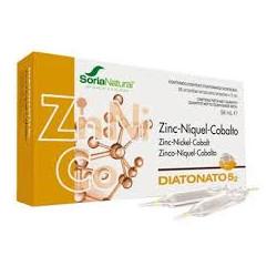 Diatonato - 5/2 -  (Zinc, Níquel, Cobalto) 28 viales - Soria Natural