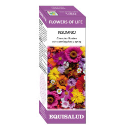 FLOWERS OF LIFE INSOMNIO - EQUISALUD - 15 ML.