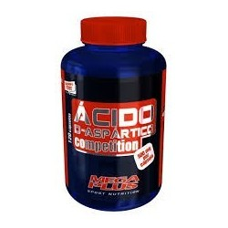 ACIDO D-ASPARTICO COMPETITION 120 CAPSULAS MEGA PLUS