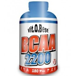 BCAA 2200 ( 180 TRIPLE CAPS ) VIT.O.BEST