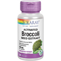 ACTIVATED BROCCOLI seed extract 350mg. 30 CPSULAS -SOLARAY