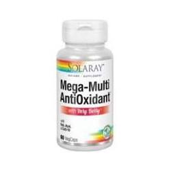 ANTIOX MEGA MULTI 60 CAPSULAS -SOLARAY