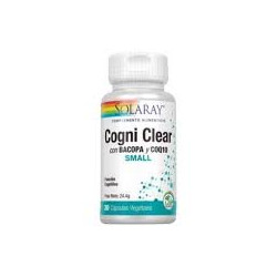 COGNI CLEAR 30 CAPSULAS VEGANAS -SOLARAY