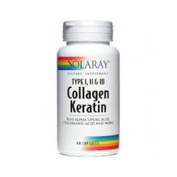 COLLAGEN KERATIN 60 COPRIMIDOS -SOLARAY