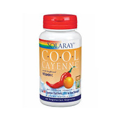 COOL CAYENNE 60mg. 60 CAPSULAS VEGETALES-SOLARAY