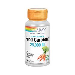 FOOD CAROTENE 50 PERLAS - SOLARAY