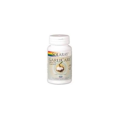 GARLICARE (desodorizado) 60 COMPRIMIDOS -SOLARAY