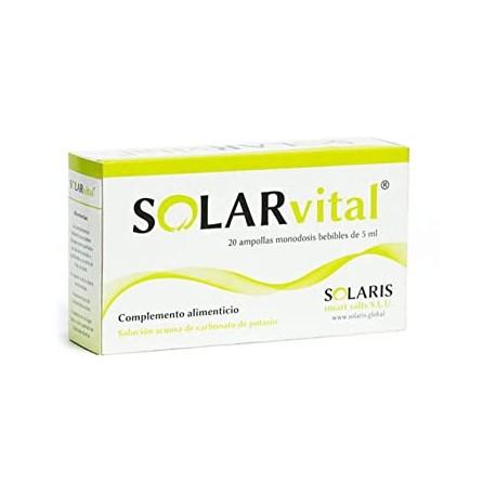 SOLARvital (20 ampollas)- depurativo y alcalinizante natural SOLARIS