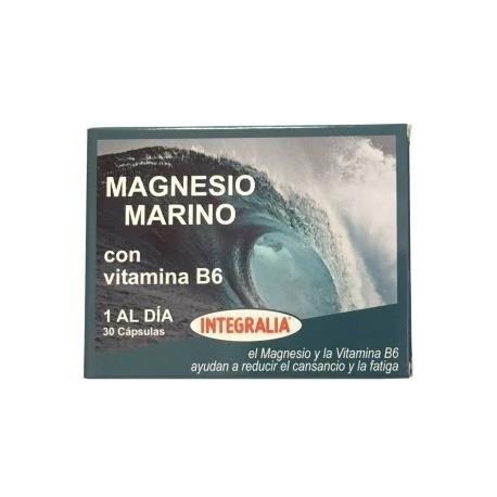 Magnesio Marino + Vitamina B6 30 Cápsulas Integralia