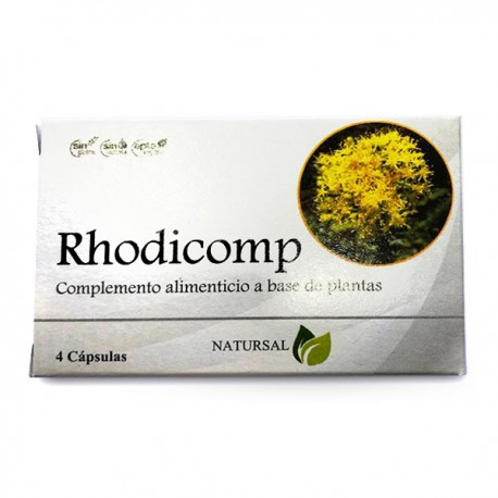 Rhodicomp 4 Cápsulas de Natursal