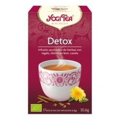 Té Detox ( Yogi Tea) Biológico 17 Bolsitas.