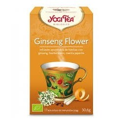 TE GINSENG FLOWER ( YOGI TEA ) BIOLOGICO 17 BOLSITAS 1.8g