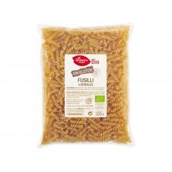 Fusilli de 4 cereales sin Gluten Bio, 500 g ( EL GRANERO )
