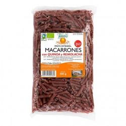 Macarrones con quinoa y remolacha bio ( VEGETALIA ) 500gr