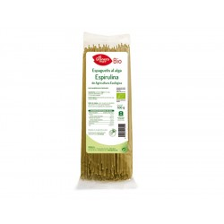 Espaguetis a la Espirulina Bio, 500 g ( EL GRANERO )