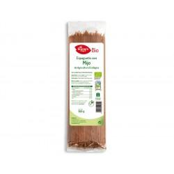 Espaguetis con Mijo Bio, 500 g ( EL GRANERO )