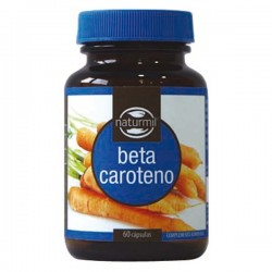 Betacaroteno - 60 cap - Naturmil