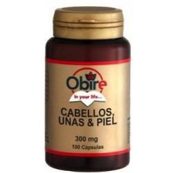 Cabellos Uñas y Piel - 100 cap - Obire
