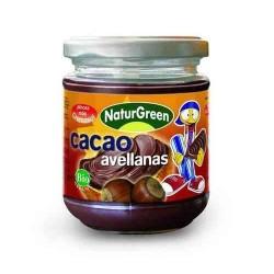 Crema Cacao Avellanas Ecológica ( NATURGREEN )