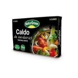 CALDO DE VERDURAS 8 CUBITOS( NATURGREEN ) BIO