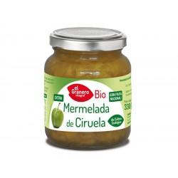 Mermelada de Ciruela Bio, 330 g ( EL GRANERO )
