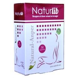 NaturLib Caja de 30 Cápsulas viagra femenina