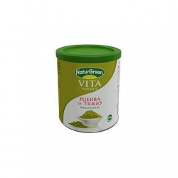 Hierba de Trigo en polvo (WheatGrass) Naturgreen, 200 g