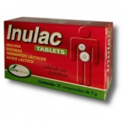 Inulac Tablets - 30 comp - Soria Natural