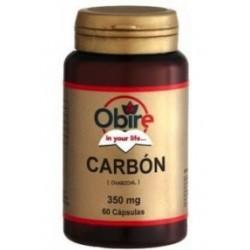 Carbón Vegetal - 60 cap - Obire