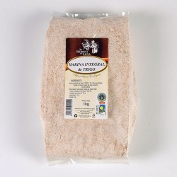 Harina integral de trigo ( EL HORNO DE LEÑA )
