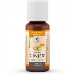 Ginjer gotas Bio 20ml jengibre lemon pharma
