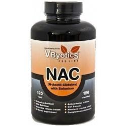 Vbyotics NAC con Selenio y Quercitina 180 cápsulas