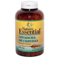 Levadura de cerveza 400 mg. 800 Pastillas  Nature Essential